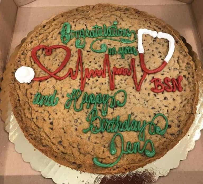 Cookie Cake Example 4