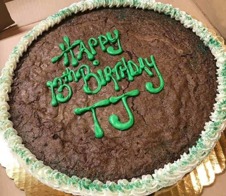 Cookie Cake Example 7