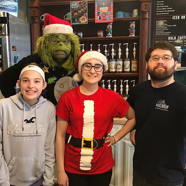 The Grinch Visits 3